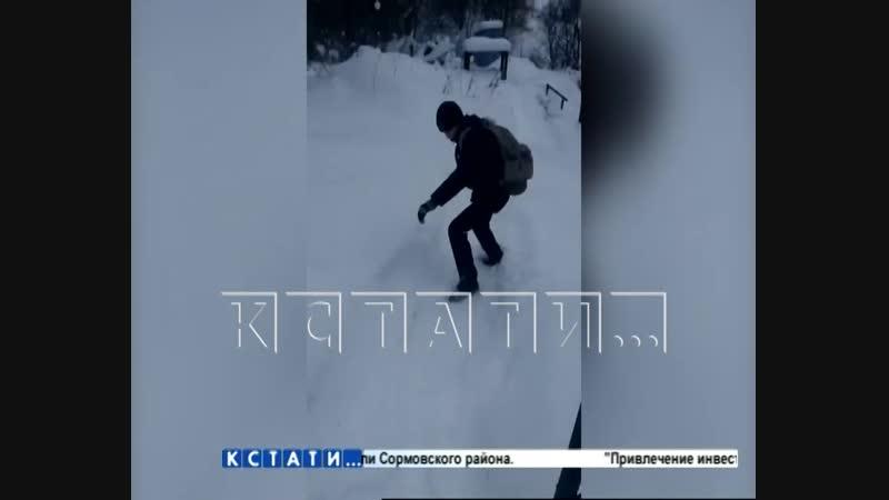 В погоне за «лайками» подростки едва не утонули в ледяной воде