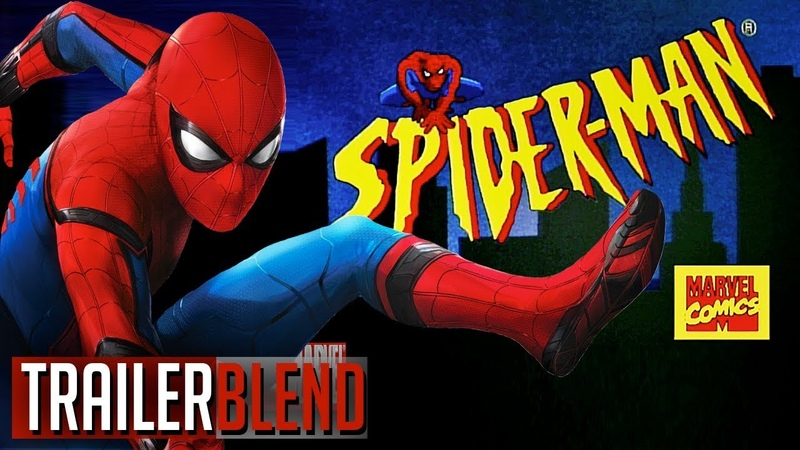Spider-Man Live Action Intro (90's Animated Style)