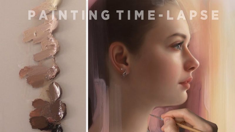 OIL PAINTING TIME-LAPSE || Profile