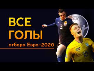 Лучшие голы отбора Евро-2020 ()