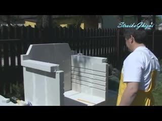 Барбекю из газобетона _ Barbecue from aerated concrete