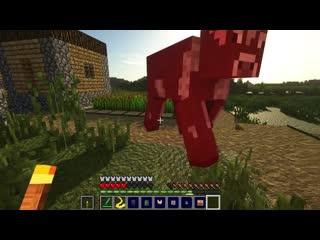 НОВЫЕ КРОВОЖАДНЫЕ МОБЫ В МАЙНКРАФТ  Обзор мода Deadly Monsters Minecraft