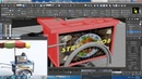 Tutorial on Modeling and Texturing a food stall in 3dsmax Part 4