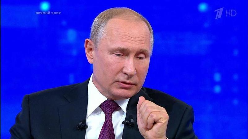 «Действительно дефицит специалистов существует»,— Владимир Путин окадровых проблемах вмедицине. Фрагмент Прямой линии 2019