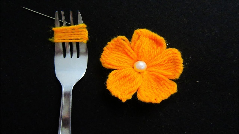Hand Embroidery Amazing Trick Easy Flower Embroidery Trick Sewing Hack