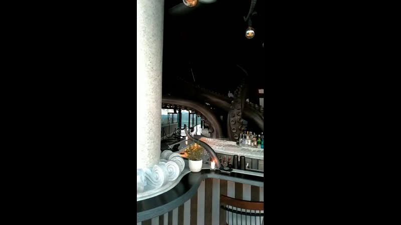 Закат с 20 этажа, Intercontinental Long Beach resort