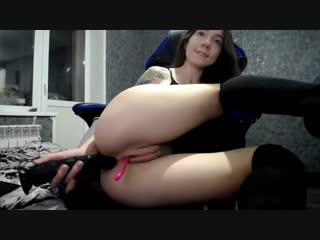 Sexy_b0rsch POV Blowjob Deepthroat HOT WIFE STRIP Cum Anal Plug Suck skinny mother Suck cock DOGGY amateur, masturbation, anal,