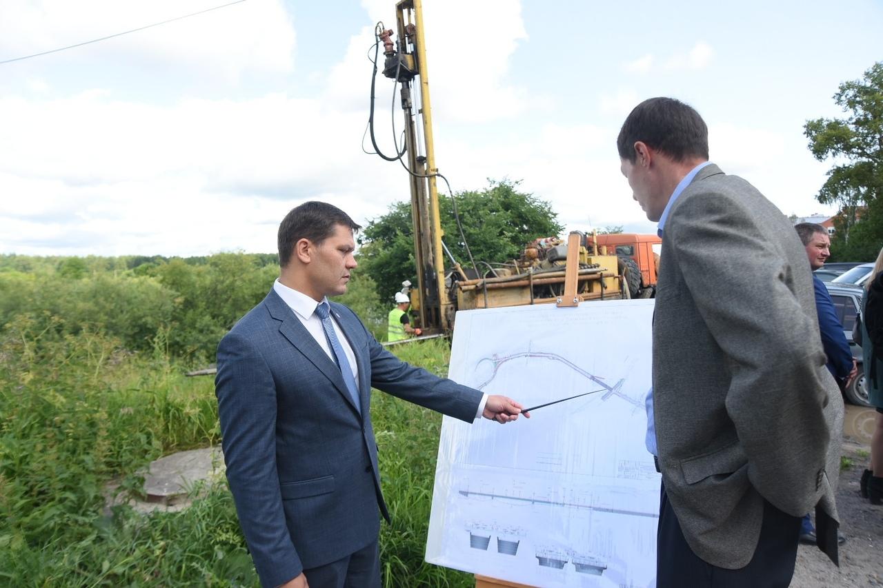 Графическая часть Некрасовского моста готова на 60% в Вологде