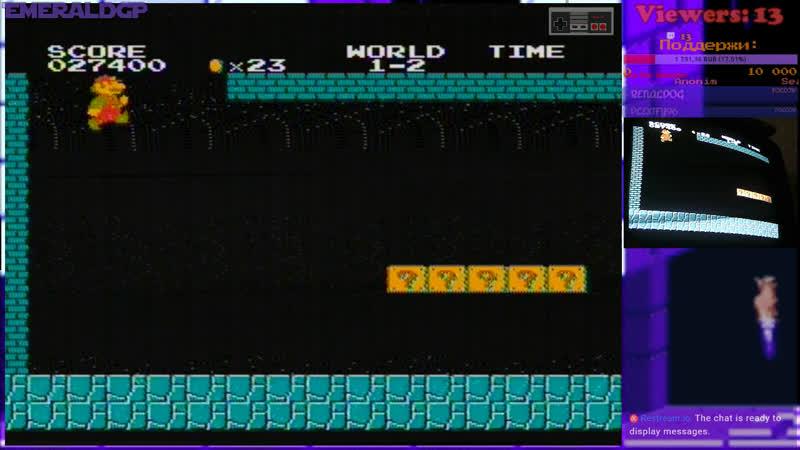 Live EmeraldGP Ретро-игры и чутка Мейнстрима.