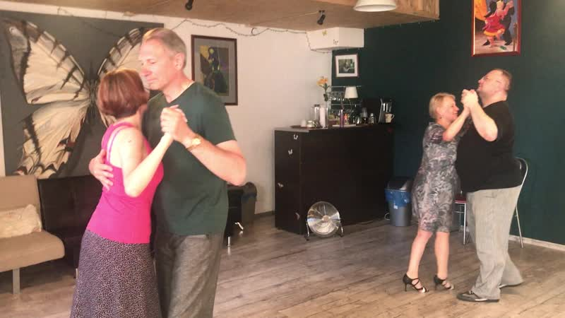 Дом Танго - 19 июня 2019 года урок по танцу милонга! Резюме Часть-2