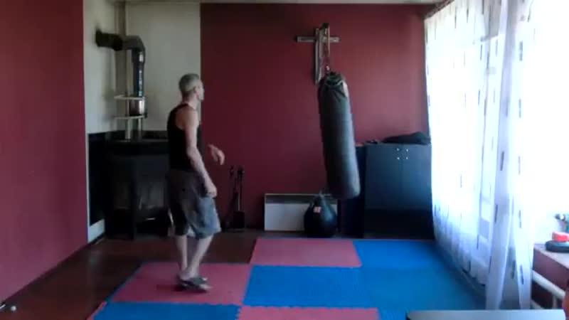 Сенсей Матвеев. Как атаковать мешок и стену.