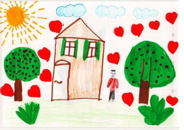 «Я РИСУЮ ДОМ И ДЕРЕВО». ПСИХОДИАГНОСТИКА ДЕТСКОГО РИСУНКА. Предложите своему ребенку нарисовать дом, дерево и человека в полный рост, занятого каким-либо делом. На вопросы ребенка (Как мне