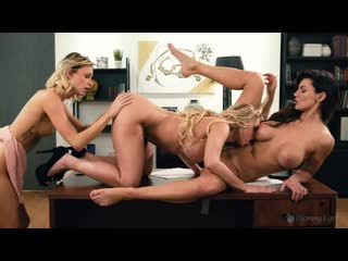 Katie Morgan, Emma Hix, Becky Bandini - Dont Bring Your Daughter To Work Day - Porno, Lesbian, Porn, Порно