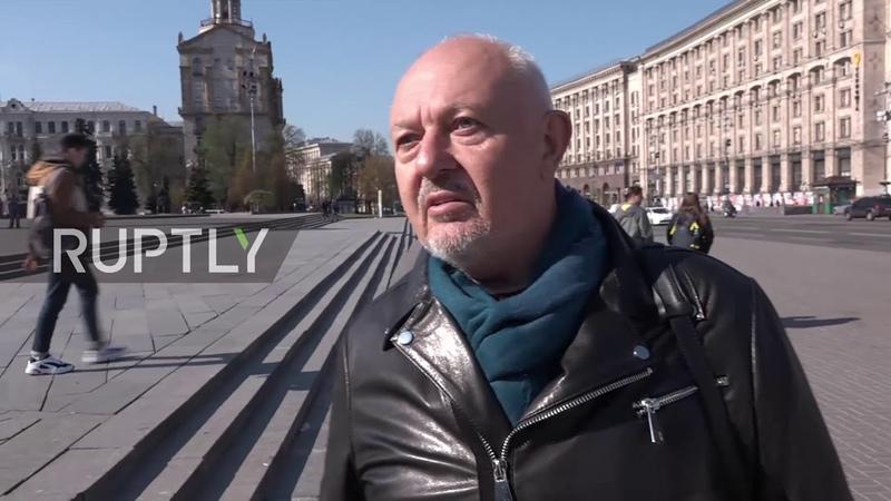 Ukraine Kiev residents react to Zelenskiy's 'unusual' landslide victory