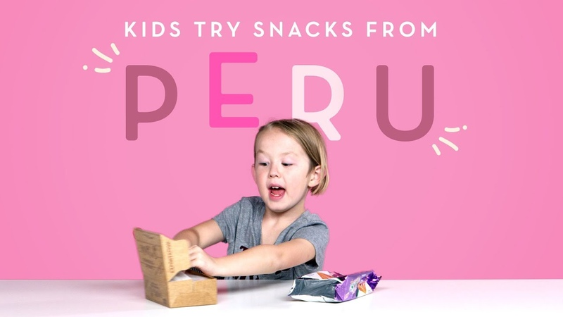 Kids Try Snacks from Peru   Kids Try   HiHo Kids