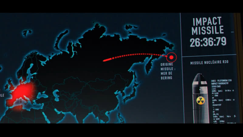 Россия запустила по Франции ядерной боеголовкой