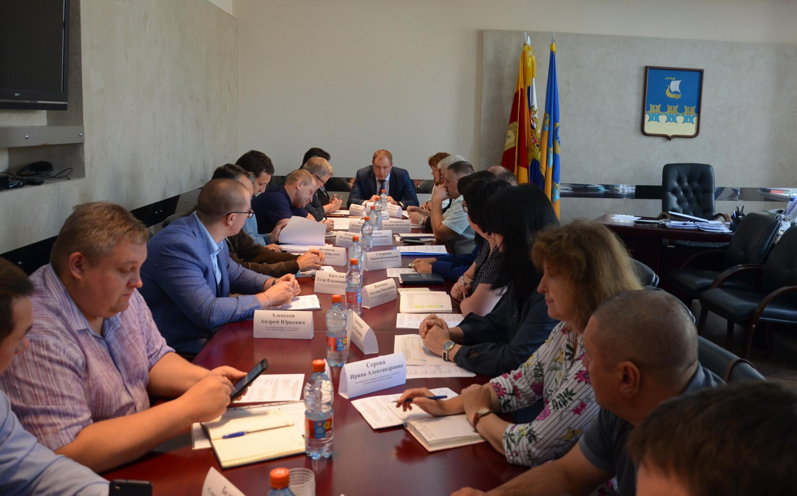Замминистра высоко оценил работу кимрской администрации, особенно МУП «Городское хозяйство»