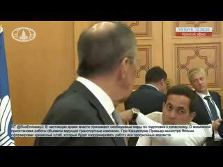 Выступление и ответы на вопросы СМИ С.В.Лаврова по итогам заседания Совета министров иностранных дел государств-участников СНГ