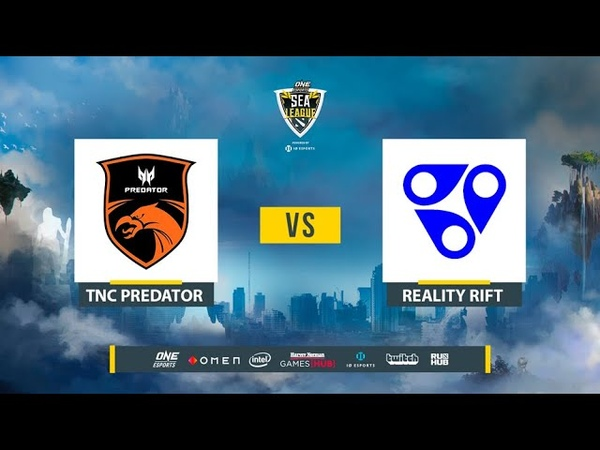TNC Predator vs Reality Rift ONE Esports Dota 2 SEA League bo2 game 2 Lex