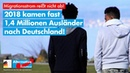 2018 kamen fast 1,4 Millionen Ausländer nach Deutschland! - AfD-Fraktion im Bundestag