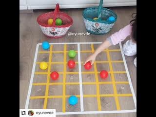 ВЕСЕЛОЕ УПРАЖНЕНИЕ для тренировки внимания и изучения симметрии