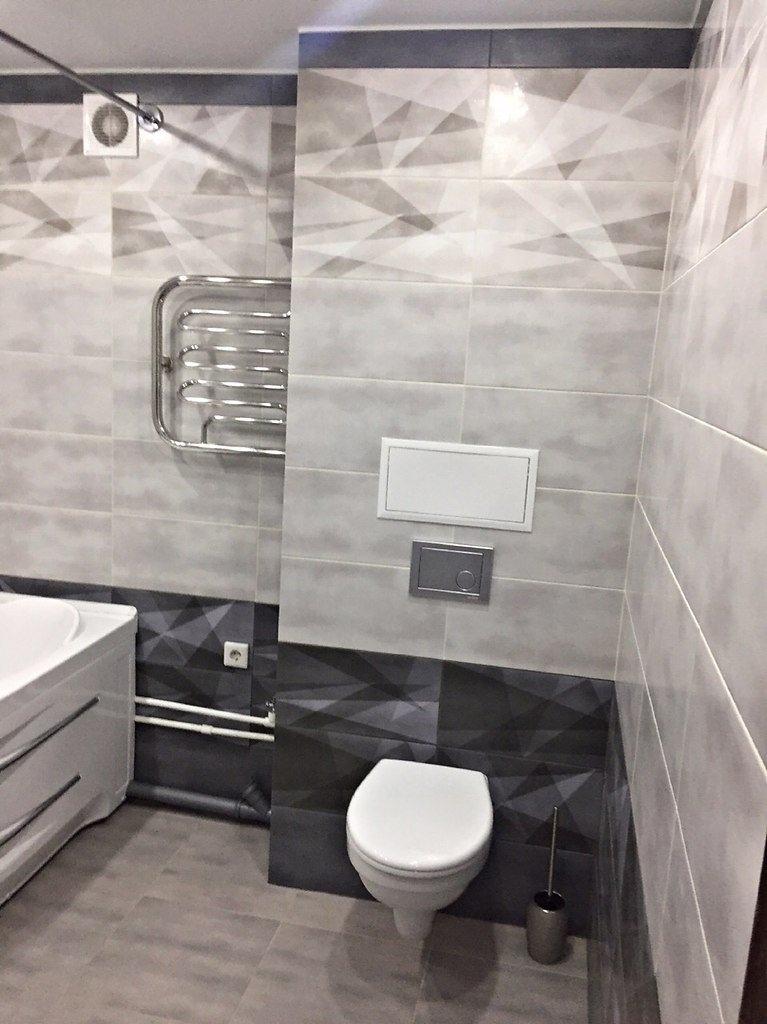 Ремонт ванной комнаты в серых тонах - осталось по мелочам. Что вам нравится, а что нет?