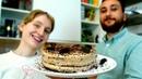 Новогодний торт ЧЁРНЫЙ ЛЕС без яиц и молока