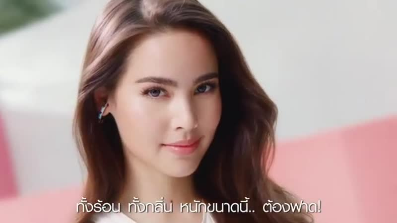 Яя и Ami Chan в рекламе прокладок LAURIER NATURAL COOL