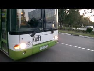 Не надо бесить водителя автобуса!