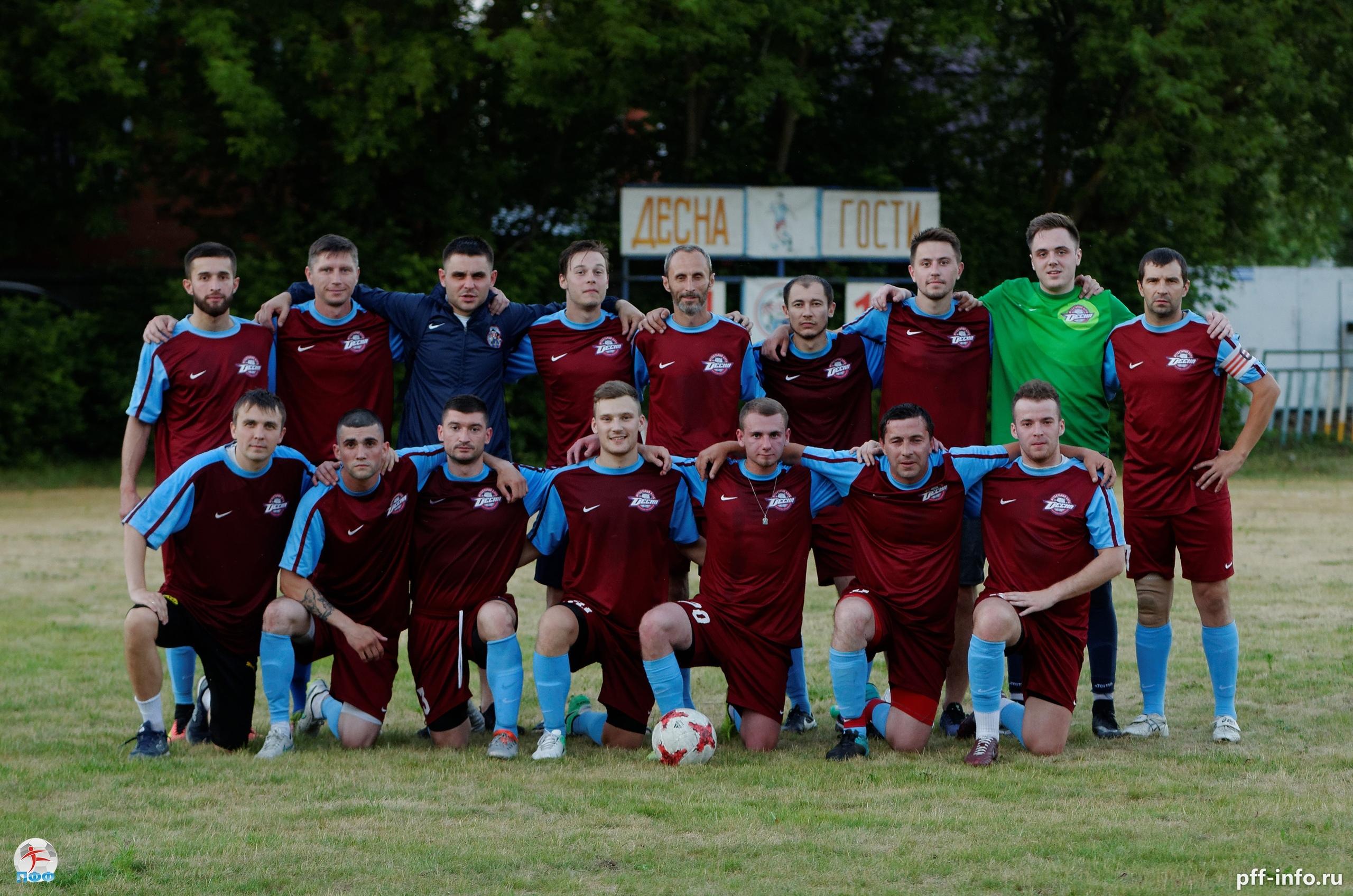 «Десна» – чемпион Подольска по футболу