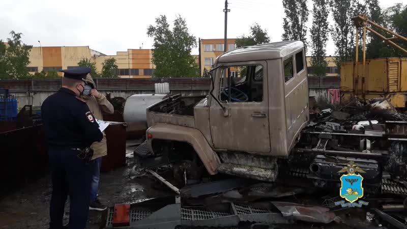 В Старом Осколе полицейские раскрыли кражу грузового автомобиля с территории пейнтбольного клуба