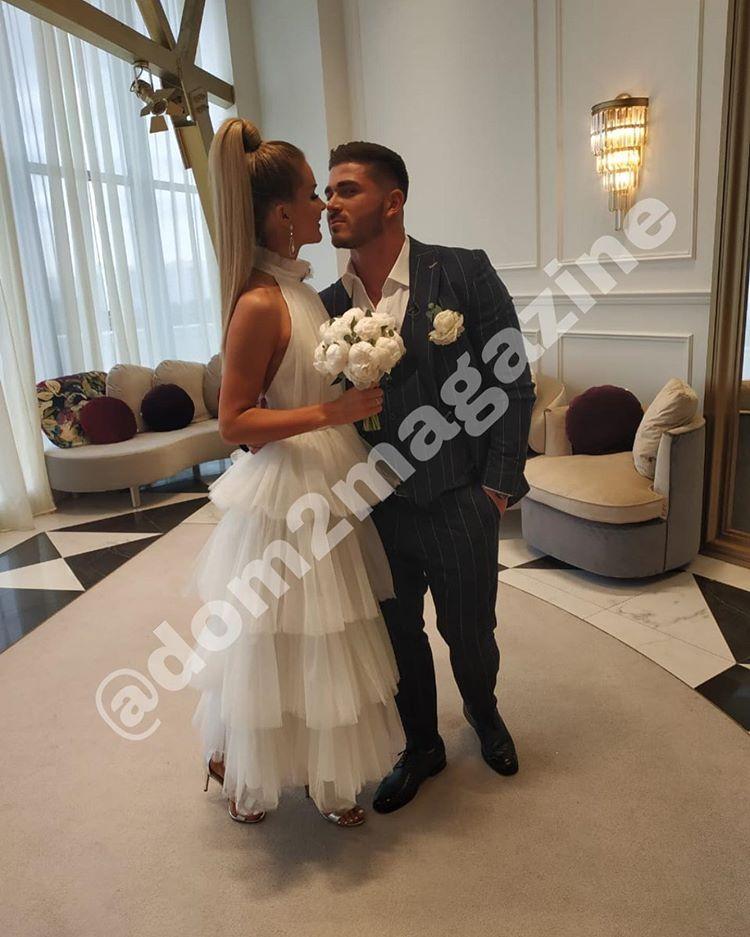 Марина Африкантова и Роман Капаклы поженились