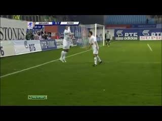 Первый гол Роберто Карлоса в Лиге