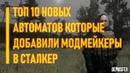ТОП 10 НОВЫХ АВТОМАТОВ ДОБАВЛЕННЫХ В СТАЛКЕР МОДМЕЙКЕРАМИ