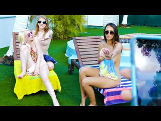 [BFFS] Melody Marks, Lilo Mai, Alice Pink - Beach House bums New