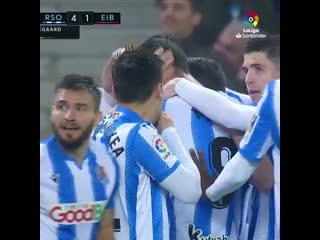Реал Сосьедад 4:1 Эйбар