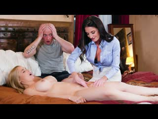 Sarah Vandella, Silvia Saige - Parent Teacher Tag-Team (Big Tits