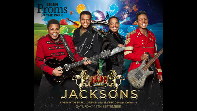The Jacksons★BBC Proms in the Park 2015@
