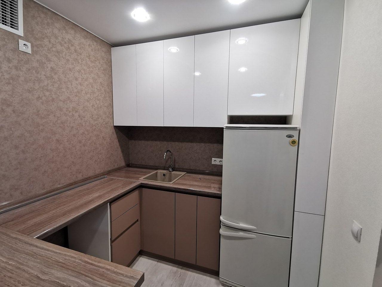 Наша новая кухня в студии - почти закончили ремонт