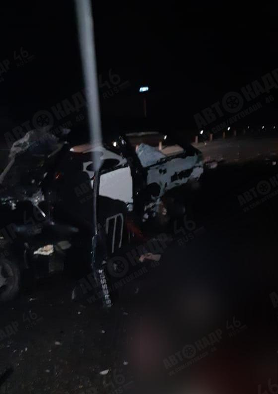 В Железногорском районе погибли два автомобилиста