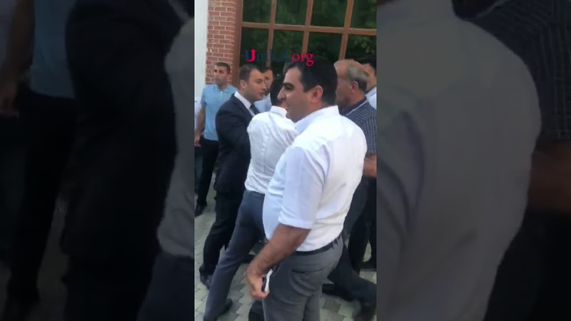 Relax istirahət mərkəzində deputat İqbal Məmmədovun adamları vergi iş iləri və polisləri döydülər