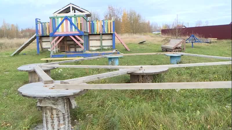 Михаил Ведерников посетил с рабочим визитом деревню Неелово 2 Часть 2