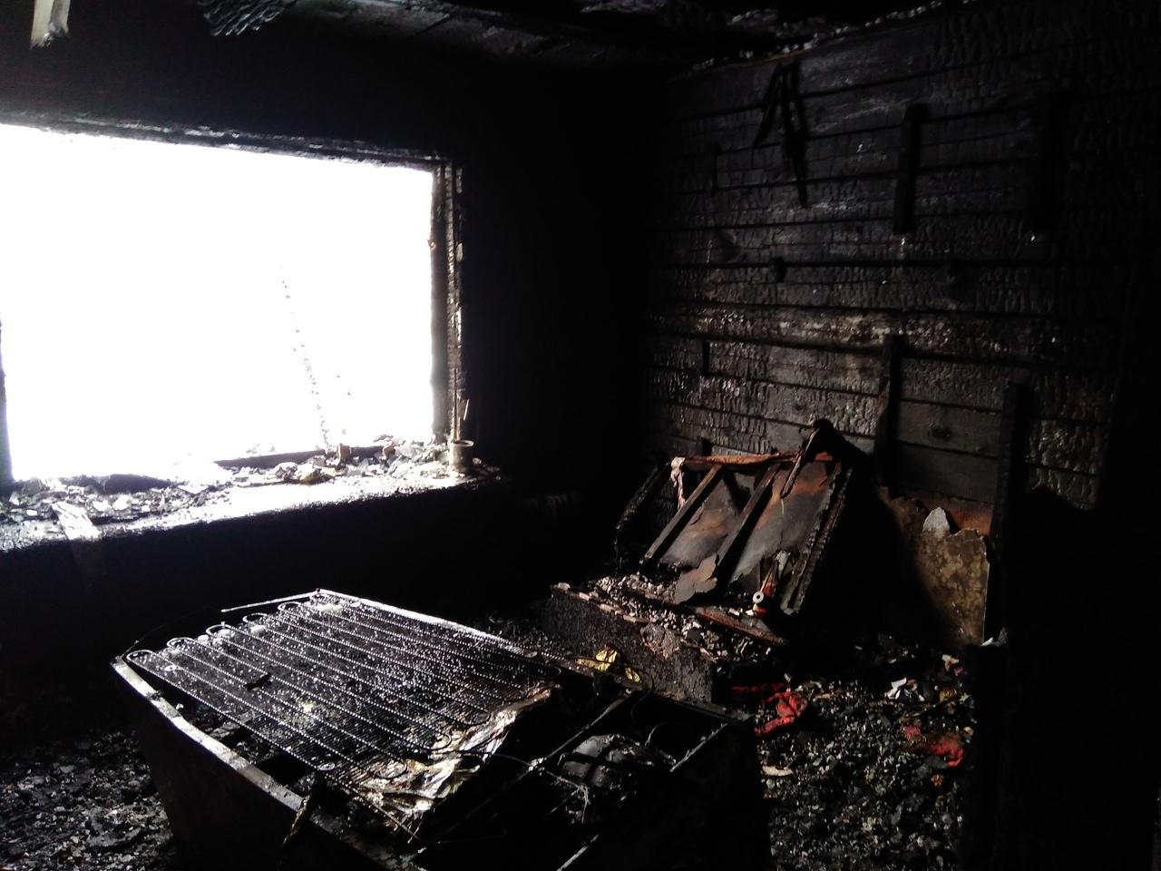 пожар, чайковский район, 2020 год