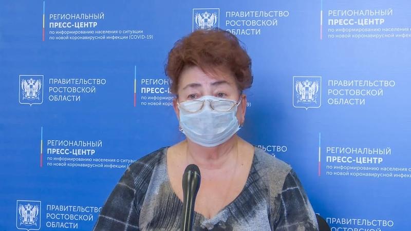 Брифинг Т А Кондратенко заведующего кафедрой эпидемиологии РостГМУ