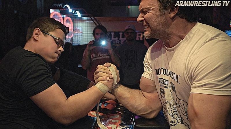 Schoolboy VS Devon Larratt Toddzilla ARM WRESTLING 2020