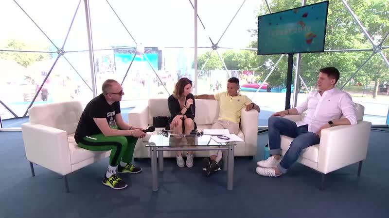 Ирина Старшенбаум анонсирует сериал учителя в трансляции ТНТ на VK FEST 5