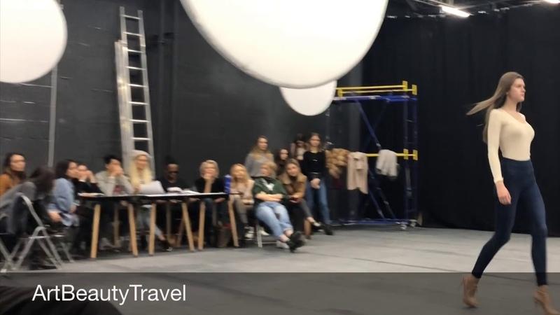 Русский Кастинг Неделя Моды в Москве 2019 Casting Backstage Moscow Fashion Week 2019