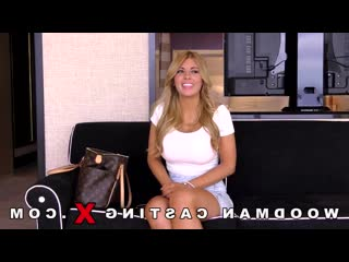 Kayla Kayden - кастинг  анал, секс, сиськи, жопа, минет, porno, Woodman Casting X