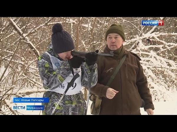 Старшеклассники Чебоксар приняли участие в военно-спортивнных соревнованиях, посвященных 75-летию По