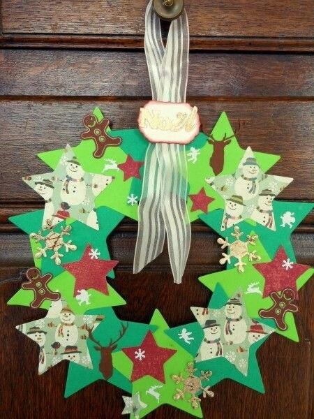 Новогодние и рождественские поделки из бумаги. Идеи.